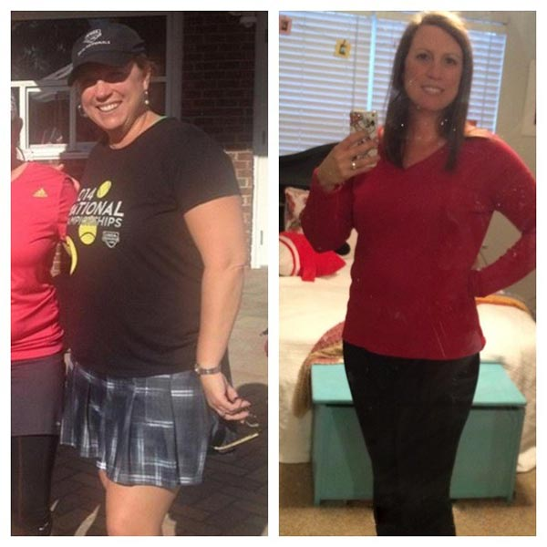 Allison before and after2 - The 1 Hour Belly Blast Diet