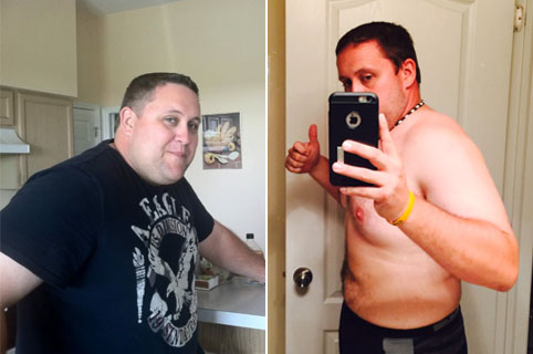 chris beforeafter - The 1 Hour Belly Blast Diet