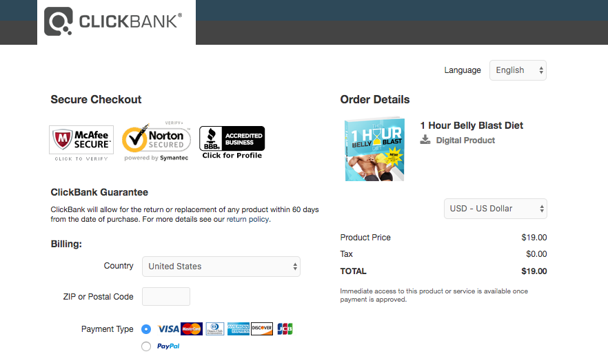 clickbankpage19 - The 1 Hour Belly Blast Diet