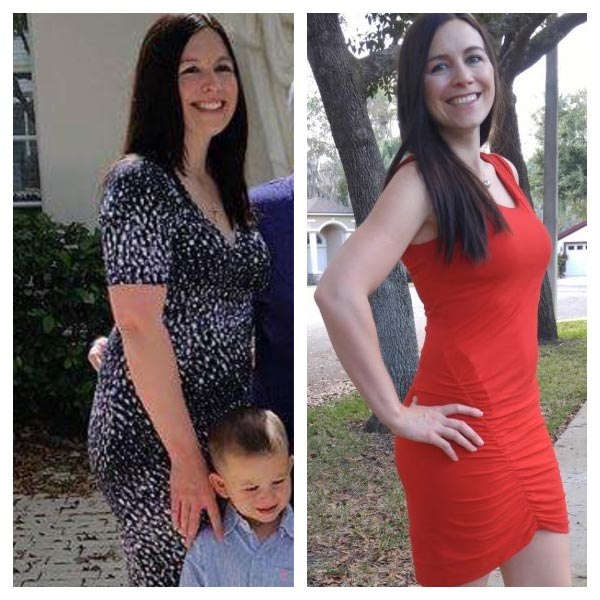 meagan before after - The 1 Hour Belly Blast Diet