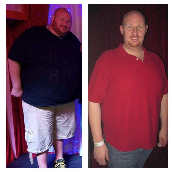 mike before after2 - The 1 Hour Belly Blast Diet